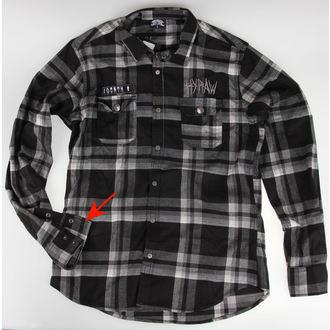 košile pánská HYRAW - Death - POŠKOZENÁ - NI085