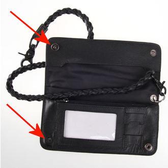 peněženka HYRAW - Skull - POŠKOZENÁ - NI089
