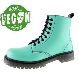boty dámské 8 dírkové ALTERCORE - Vegetarian - Green, ALTERCORE