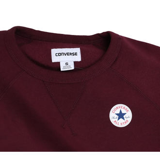 mikina dámská CONVERSE - Core - Burgund, CONVERSE