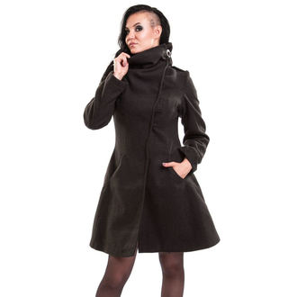 kabát dámský VIXXSIN - NECROMANCER - GREY - POI413