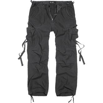 kalhoty pánské BRANDIT - M65 Vintage Trouser Black - 1001/2