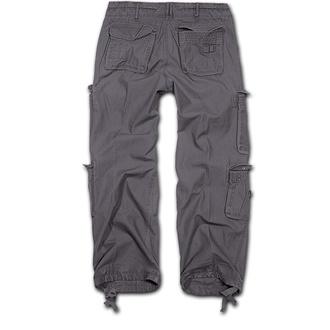kalhoty pánské BRANDIT - Pure Vintage Trouser Anthracite, BRANDIT