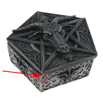 krabička (dekorace) Baphomets Hoard - NENOW - D1802E5 - POŠKOZENÁ
