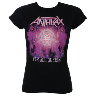 tričko dámské Anthrax - For All Queens - ROCK OFF, ROCK OFF, Anthrax