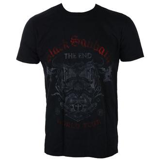 tričko pánské Black Sabbath - The End Reading Skull - ROCK OFF, ROCK OFF, Black Sabbath