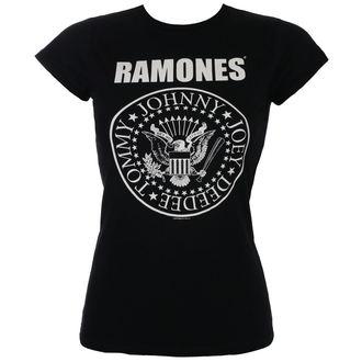 tričko dámské Ramones - Seal Skinny - ROCK OFF, ROCK OFF, Ramones