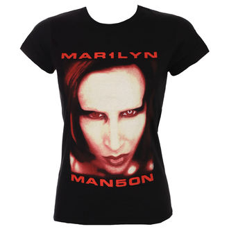tričko dámské Marilyn Manson - Bigger Than Satan - ROCK OFF, ROCK OFF, Marilyn Manson