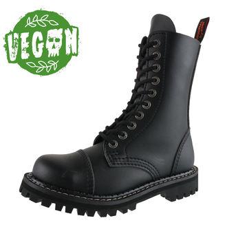 boty KMM 10dírkové - Vegan - Black, KMM
