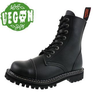 boty KMM 8dírkové - Vegan - Black - 080