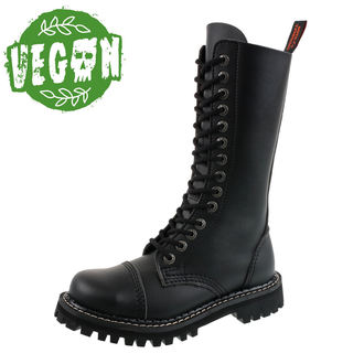 boty KMM 14dírkové - Vegan - Black, KMM