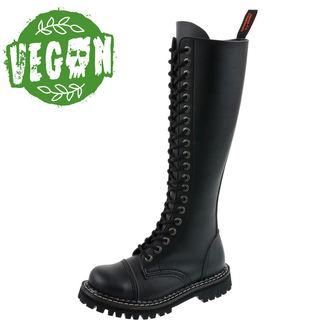 boty KMM 20dírkové - Vegan - Black, KMM