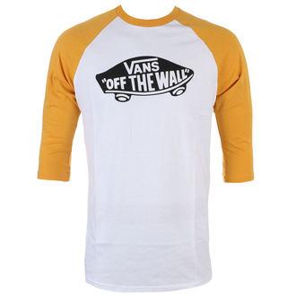 tričko pánské s 3/4 rukávem VANS - OTW RAGLAN - WHITE/MINERA, VANS
