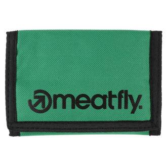 peněženka MEATFLY - Vega - Green, Black, MEATFLY