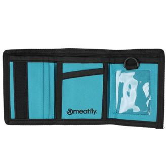 peněženka MEATFLY - Gimp - Black, Turquoise, MEATFLY