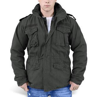bunda pánská zimní SURPLUS - REGIMENT M 65  - Black, SURPLUS