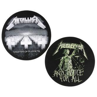 podložka na gramofon (set 2ks) Metallica - RAZAMATAZ, RAZAMATAZ, Metallica