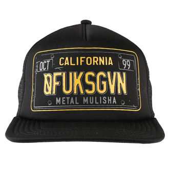 kšiltovka METAL MULISHA - CA PLATE, METAL MULISHA
