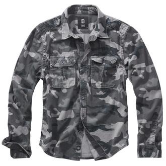košile pánská BRANDIT - Vintage - 9373-grey camo