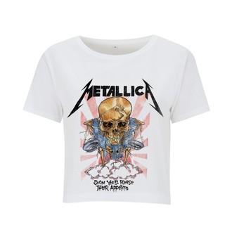 tričko dámské (top) Metallica - Scales - White, NNM, Metallica