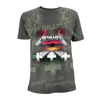 tričko pánské Metallica - Master Of Puppets - Charcoal, Metallica