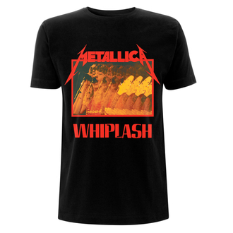 tričko pánské Metallica - Whiplash - Black - RTMTLTSBWHIP