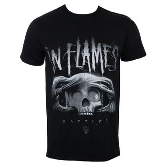 tričko pánské In Flames - Battles 2 Tone - Black - ROCK OFF, ROCK OFF, In Flames