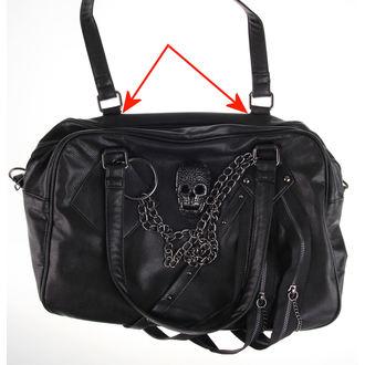 kabelka (taška) QUEEN OF DARKNESS - Skulls - POŠKOZENÁ, QUEEN OF DARKNESS