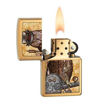 zapalovač ZIPPO - STEAMPUNK OWL, ZIPPO