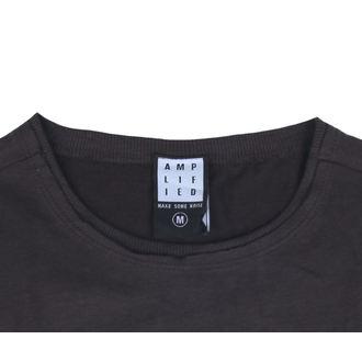 tričko pánské NIRVANA - COLOURS - CHARCOAL - AMPLIFIED