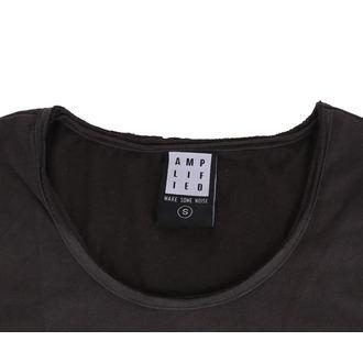 tričko dámské MISFITS - SKULL - CHARCOAL - AMPLIFIED, AMPLIFIED, Misfits