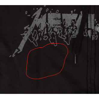 mikina pánská Metallica - Sad But Fckdup - Black - RTMTL015 - POŠKOZENÁ, Metallica