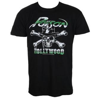 tričko pánské Poison - Hollywood - Black - HYBRIS, HYBRIS, Poison