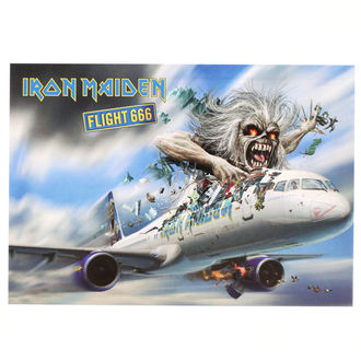 pohlednice Iron Maiden - ROCK OFF, ROCK OFF, Iron Maiden