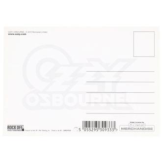 pohlednice Ozzy Osbourne - ROCK OFF, ROCK OFF, Ozzy Osbourne