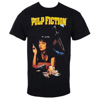 tričko pánské PULP FICTION - UMA - BLACK - LIVE NATION