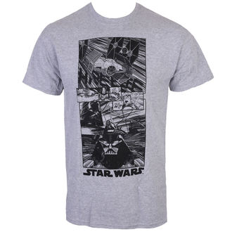 tričko pánské STAR WARS - CLASSIC NEW HOPE - CHARCOAL - LIVE NATION, LIVE NATION