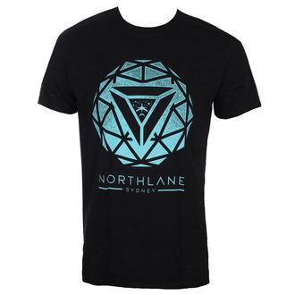 tričko pánské NORTHLANE - SPIRAL - BLACK - LIVE NATION, LIVE NATION, Northlane