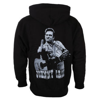mikina pánská JOHNNY CASH - FLIPPIN - BLACK - LIVE NATION, LIVE NATION, Johnny Cash