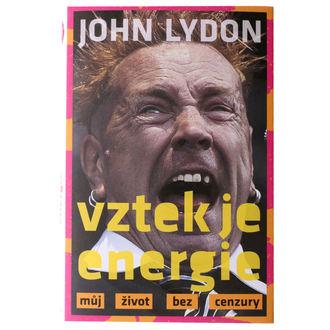 kniha Vztek je energie - John Lydon, NNM, Sex Pistols