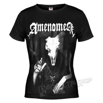 tričko dámské AMENOMEN - DEVIL'S BIBLE, AMENOMEN