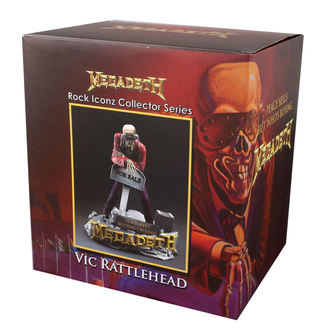 figurka (dekorace) Megadeth - Rock Iconz - Peace Sells - Vic Rattlehead 2 - KNUCKLEBONZ