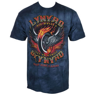 tričko pánské Lynyrd Skynyrd -  Big Wheels - Liquid Blue, LIQUID BLUE, Lynyrd Skynyrd