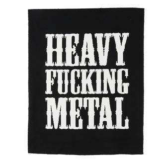 nášivka velká Heavy fucking metal