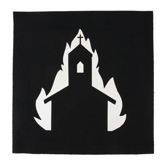 nášivka velká Church in flames