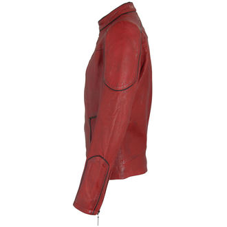 bunda pánská kožená SUICIDE SQUAD - RED