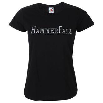 tričko dámské HAMMERFALL - Logo - NAPALM RECORDS, NAPALM RECORDS, Hammerfall