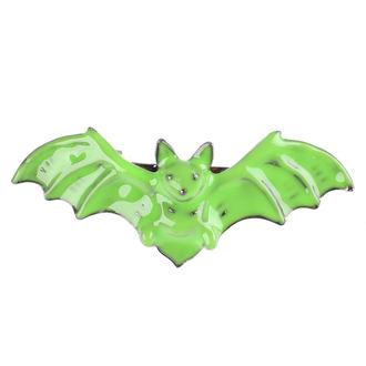 sponka do vlasů SOURPUSS - Bat - Green