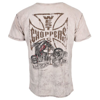 tričko pánské West Coast Choppers - CHOPPER DOG - Light brown, West Coast Choppers