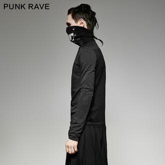 tričko pánské s dlouhým rukávem PUNK RAVE - Monster, PUNK RAVE